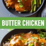 Butter Chicken Pin Collage