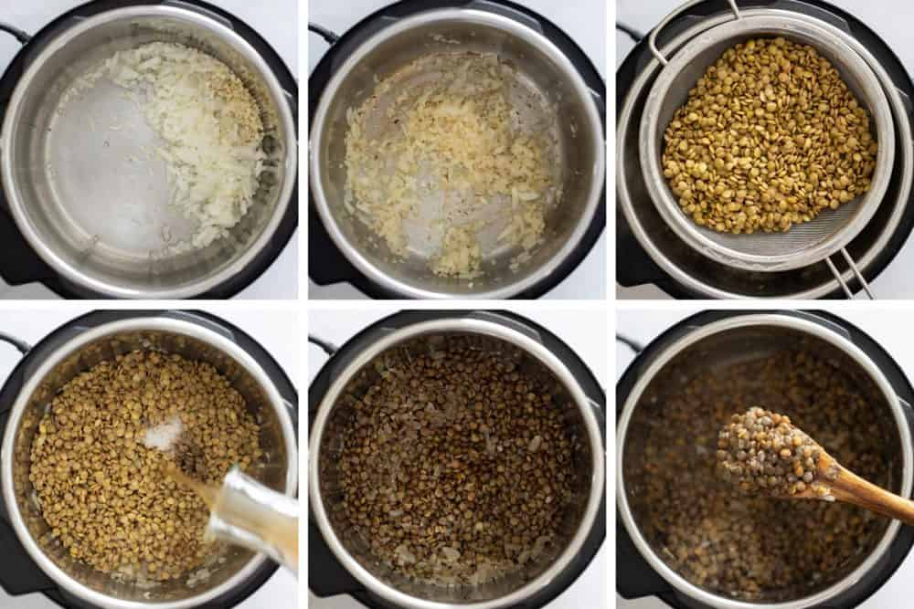 how to cook lentils instant pot lentils recipe