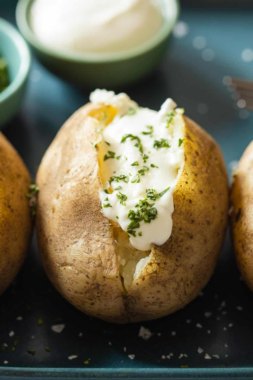 how to make instant pot baked potatoes recipe